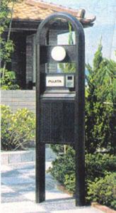 《部材》機能門柱 《材質》6063S-T5 《断面サイズ》150×70 嵌合