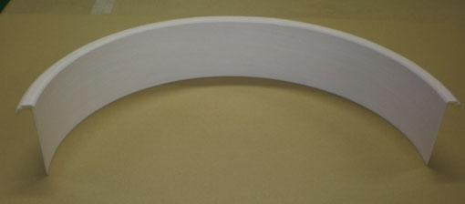 《部材》室内額縁 《材質》樹脂 《断面サイズ》141×25